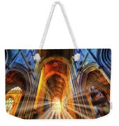 Bath Abbey Sun Rays Weekender Tote Bag