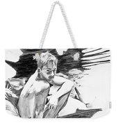 Bathed In White Light Weekender Tote Bag