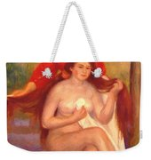 Bather And Maid The Toilet Weekender Tote Bag