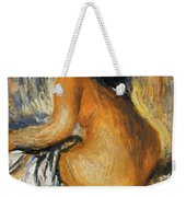 Bather From The Back Weekender Tote Bag