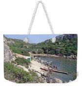 Bathers At Cales Coves Weekender Tote Bag