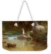Bathers At The River. Evening In Orinoco? Weekender Tote Bag