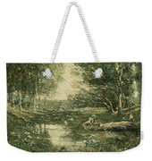 Bathers. Woodland Weekender Tote Bag