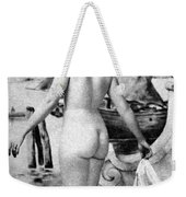 Bathing Nude, 1902 Weekender Tote Bag