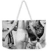 Bathing Nude, 1902 Weekender Tote Bag
