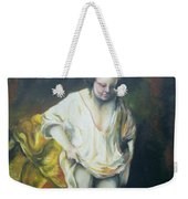 Bathing Woman Weekender Tote Bag