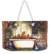 Bathtub Garden Weekender Tote Bag