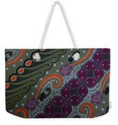 Batik Art Pattern Weekender Tote Bag