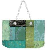 Batik Sky Weekender Tote Bag