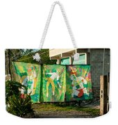 Batik Studio At Coba Village Weekender Tote Bag