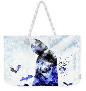 Batman Colored Grunge Weekender Tote Bag