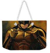 Batman The Dark Knight  Weekender Tote Bag by Paul Meijering