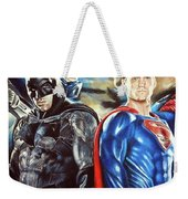 Batman V Superman Weekender Tote Bag