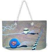 Batman Vs Superman Snail Weekender Tote Bag