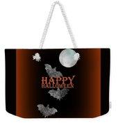 Bats And The Moonlight - Happy Halloween Weekender Tote Bag
