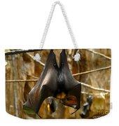 Bats Weekender Tote Bag