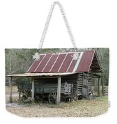 Battered Barn And Weathered Wagon Weekender Tote Bag