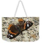 Battered Butterfly Weekender Tote Bag