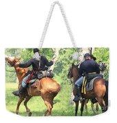 Battle By Horseback Weekender Tote Bag