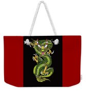 Battle Dragon Weekender Tote Bag