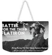 Battle For The Third Flatiron Weekender Tote Bag