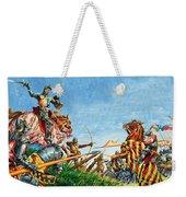 Battle Of Agincourt Weekender Tote Bag