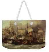 Battle Of Cape St Vincent Weekender Tote Bag