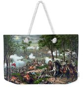 Battle Of Chancellorsville - Death Of Stonewall Weekender Tote Bag