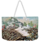 Battle Of Kenesaw Mountain Georgia 27th June 1864 Weekender Tote Bag by American School