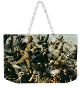 Battle Of Little Bighorn Weekender Tote Bag