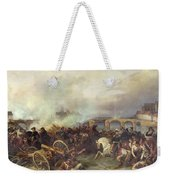 Battle Of Montereau Weekender Tote Bag by Jean Charles Langlois