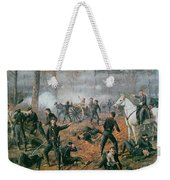 Battle Of Shiloh Weekender Tote Bag by T C Lindsay