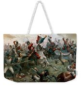 Battle Of Waterloo Weekender Tote Bag by William Holmes Sullivan