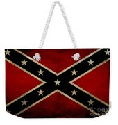 Battle Scarred Confederate Flag Weekender Tote Bag