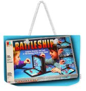 Battleship Board Game Painting  Weekender Tote Bag