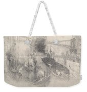 Battleship Coming Home Weekender Tote Bag