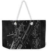 Battleship Patent Weekender Tote Bag