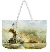 Battleships At War Weekender Tote Bag