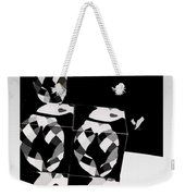 Bauhaus Ballet 2 The Cubist Harlequin Weekender Tote Bag