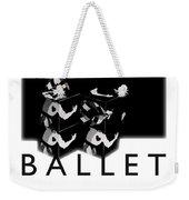 Bauhaus Ballet Poster Weekender Tote Bag by Charles Stuart
