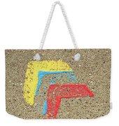 Bauhaus Symbol Paving Stone Weekender Tote Bag