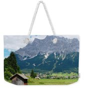 Bavarian Alps Landscape Weekender Tote Bag