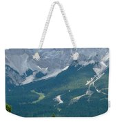 Bavarian Alps With Shed Weekender Tote Bag