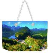 Bavarian Countryside Weekender Tote Bag