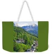 Bavarian Mountainside Weekender Tote Bag