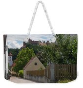 Bavarian Village With Castle  View Weekender Tote Bag
