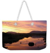 Baxter State Park At Sunset Weekender Tote Bag