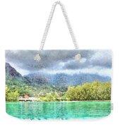 Bay And Greenery Weekender Tote Bag