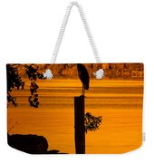 Bay At Sunrise - Heron Weekender Tote Bag