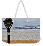 Bay Bridge Weekender Tote Bag